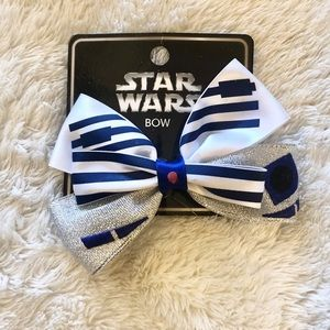 ✨Loungefly Star Wars R2D2 Cosplay Bow Clip